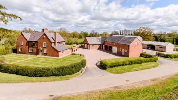 FOR SALE : Hadley Hall farm - immaculate equestrian property Cheshire
